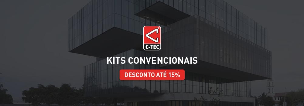 C-TEC | Kits de Deteção de incêndio