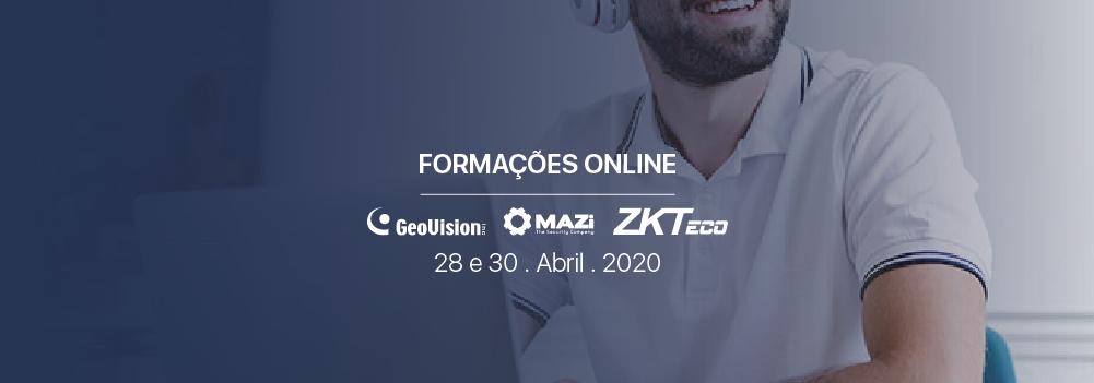 Formações Online | Contagem de Pessoas & ZKTeco - Controlo de acessos com sensor de temperatura
