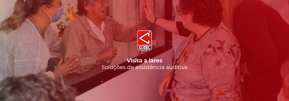 Visita a lares - Soluções de assistência auditiva