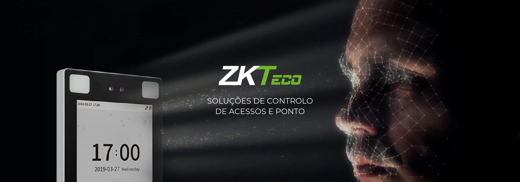 ZKTeco | Controlo de acessos e ponto sem contacto