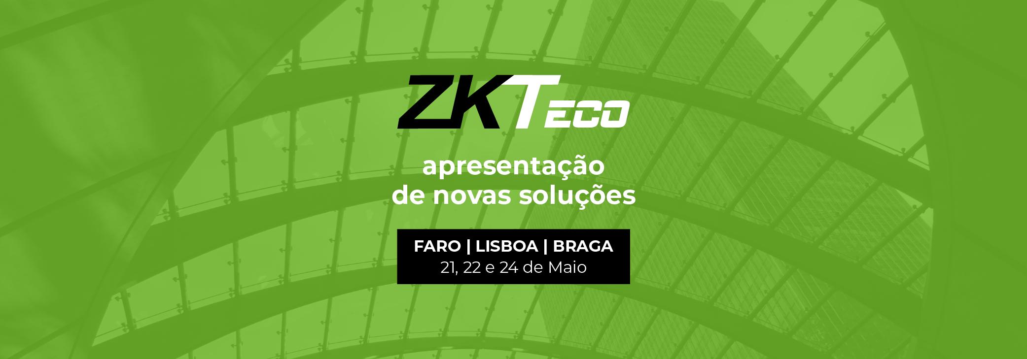 ZKTeco - Apresentação de novas soluções
