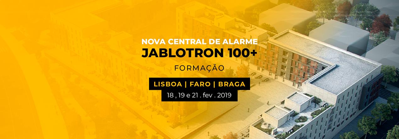 APRESENTAÇÃO DA NOVA CENTRAL DE ALARME JABLOTRON 100+