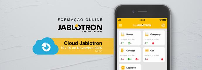 Cloud Jablotron | Formação Online